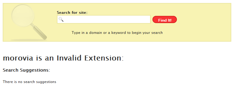 error-invalid-extension-search-domain
